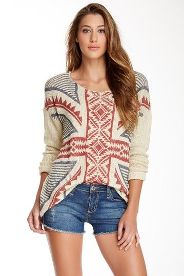 Seven7 Dropped Shoulder Sweater by Seven7 on @HauteLook