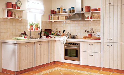 k che im landhausstil kitchen pinterest deko. Black Bedroom Furniture Sets. Home Design Ideas