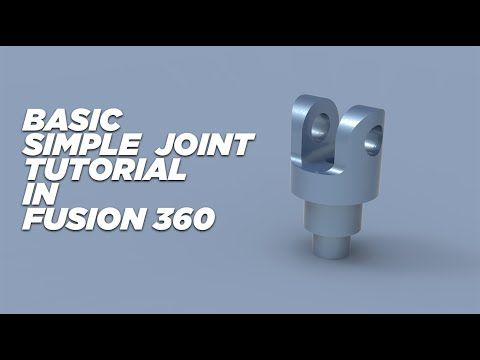 Autodesk Fusion 360 Tutorial For Beginner Exercise 3 Youtube Solidworks Tutorial Tutorial Workout For Beginners