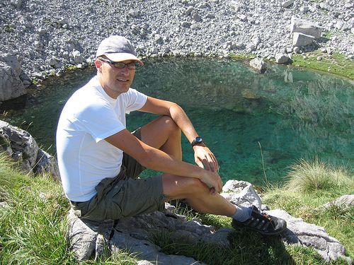 En el Lago de Las Moñetas Picos de Europa