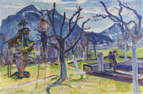 Pierre-Jean Maurel - thunderstruck9:  Maria Caspar-Filser (German 1878-1968)...