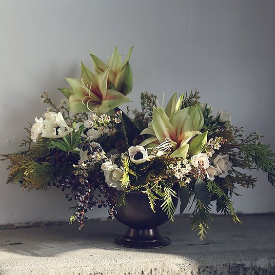 Our take on masculine flowers