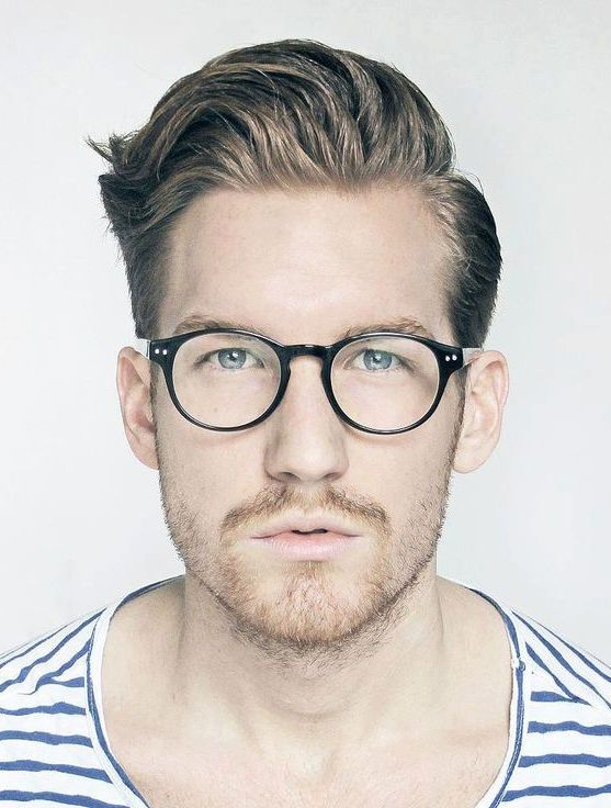 ray ban styles men  23 cool men's hairstyles with glasses