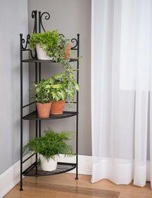 Esschert Quarter Folding Etagere House Plants Decor Corner