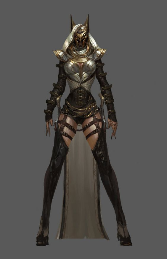 Female characters, Armors and Wow factor on Pinterest