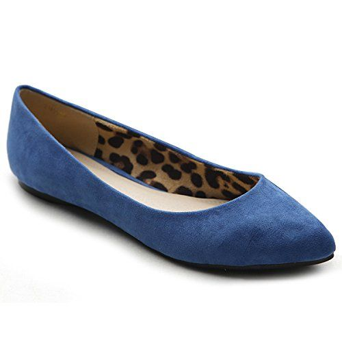 Ollio Women's Ballet Comfort Light Faux Suede Multi Color Shoe Flat(7.5 B(M) US, Blue) Ollio http://www.amazon.com/dp/B00GM08Z0E/ref=cm_sw_r_pi_dp_ip6Zwb0MMT5PM: