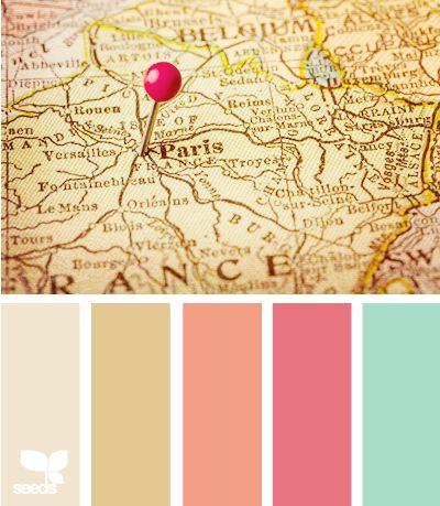 Design Seeds&: Mapped hues