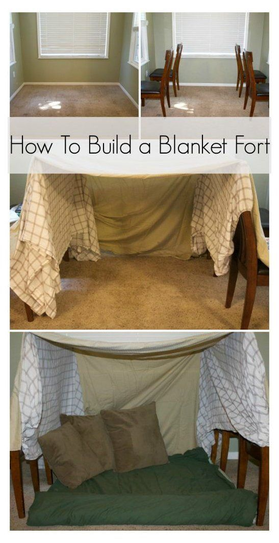 How To Build A Blanket Fort Easy Blanket Fort Ideas Step By