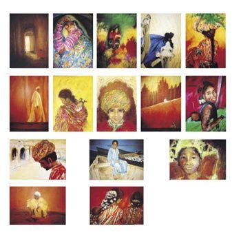 art makes sense® - Sortiment Menschen der Welt - Postkarten von Marjan van Zeyl