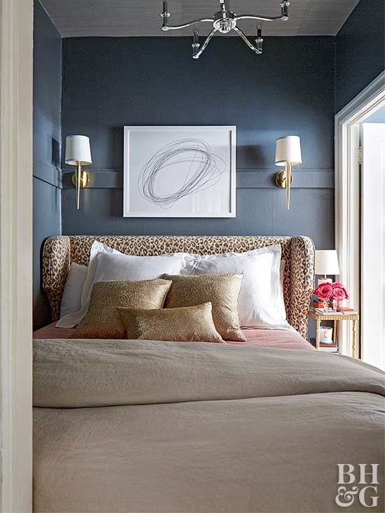 Your Master Bedroom Is Missing This One Daring Color Navy Blue