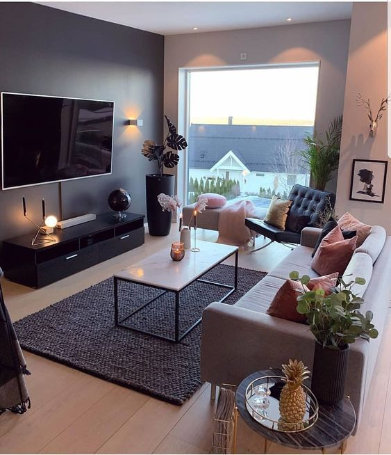 57 Comfortable And Warm Living Room Ideas You Will Definitely Like