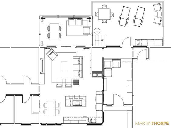 Lake House Proposal Floor Plan 2013