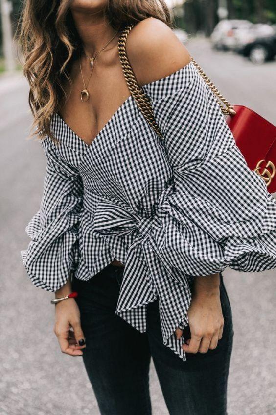 Cuadros vichy #moda #fashion #street style: