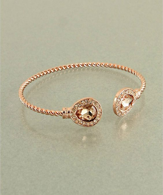 Rose Gold Cable Bracelet