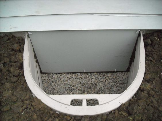 Crawl space entry well and weather tight door exterior the basement doctor pinterest for Exterior basement access doors