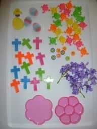 Easter Sensory Bin and other Easter activities