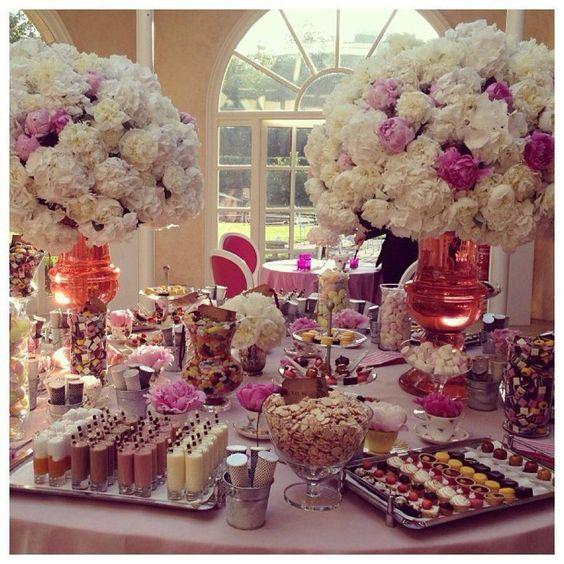 Dessert Buffet, Wedding And Events On Pinterest