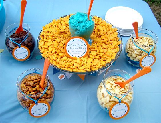 Bubble Guppies Party Food Ideas Brownie Bites Blog Bubble Guppies Party Goldfish Party Bubble Guppies Birthday Party