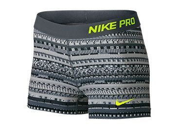 "Nike Women's Pro 3"" 8-Bit Compression Shorts"