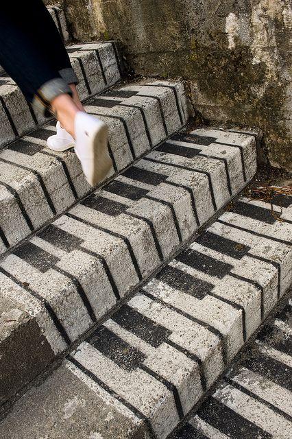 Staircase street art in Norway #art #streetart #norway