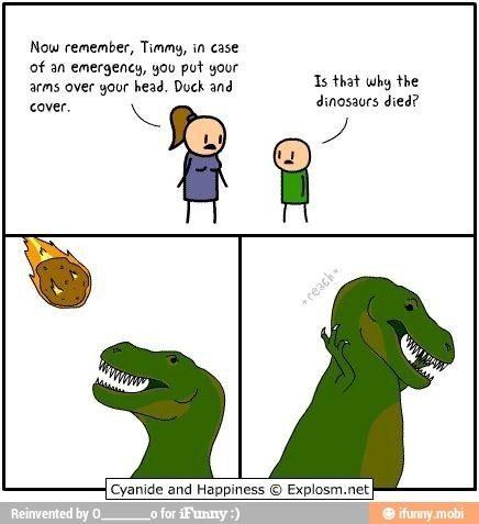 Dinosaur problems....