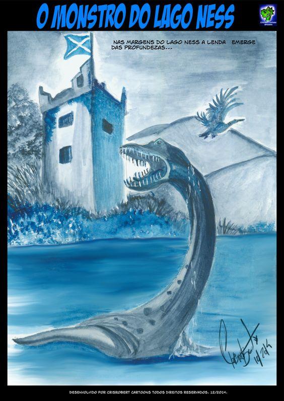 Ilustração em aquarela.