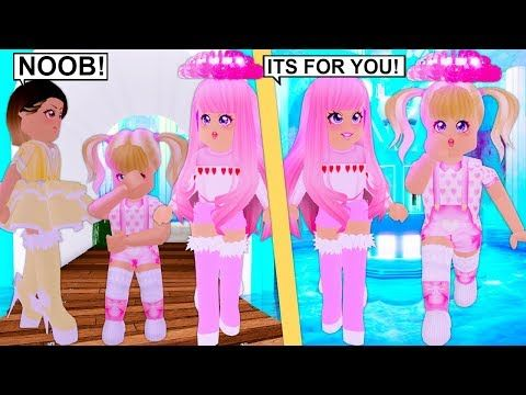 She Saw Her Getting Bullied So She Gave Her The Halo Roblox