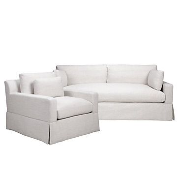 Chic Combo - Theodore Natural Sofa & Chair | Sofa Combos | Chic Combos | Furniture | Z Gallerie