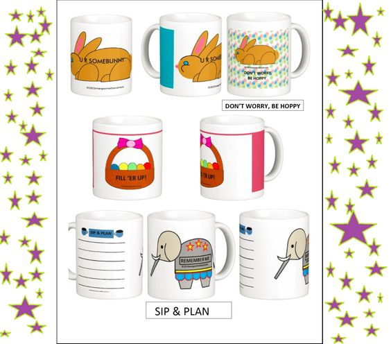 Be prepared for Teacher Appreciation Week (May 4-8) and Easter. Adorable gifts on www.zazzle.com/mmmenagerie