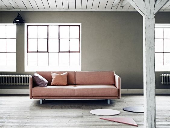 softline meghan sofa bed | fabric sofa, poufs and comfortable couch, Hause deko