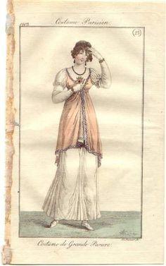 costume parisien robe croisée - Cerca con Google