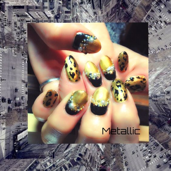 Metallic -Nail Salon LOOP-