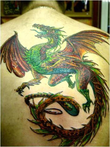 back dragon