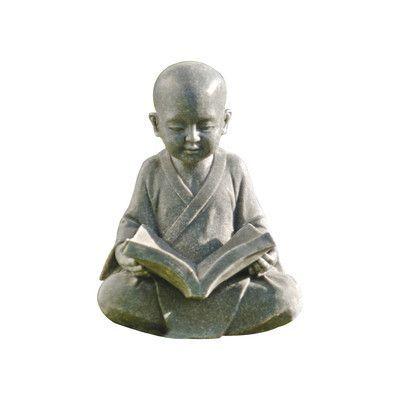 Design Toscano Baby Buddha Studying The Five Precepts Garden Statue