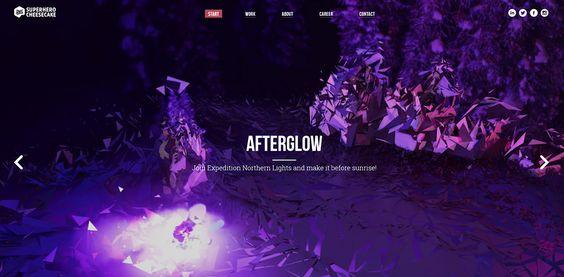 Superhero Cheesecake - Partagé par illusiv.fr #webdesign #website #inspiration #layout