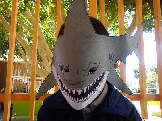 Mascara De Tiburon Adorable Pinterest Mascaras