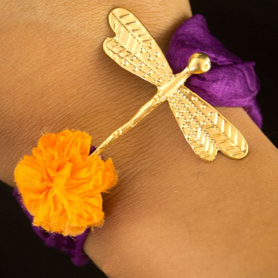 Fab.com | Dragonfly Bracelet Purple
