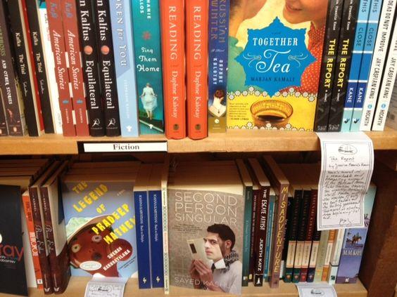 Spotted: THE LEGEND OF PRADEEP MATHEW by Shehan Karunatilaka // Elliott Bay Book Co in Seattle, WA // June 2013