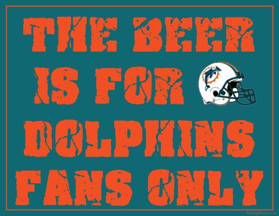 Printable Miami Dolphins Man Cave Sign Party Ideas Pinterest Miami Dolphins Miami And Signs