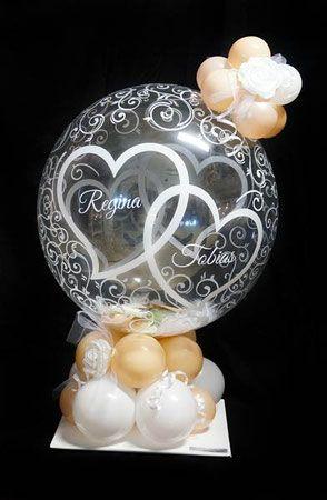 Bubble Ballon Luftballon Geschenk Uberraschung Hochzeit Herzlichen Gluckwunsch Geldballon Geld Geldgesch Geldgeschenke Hochzeit Luftballon Geschenk Luftballons