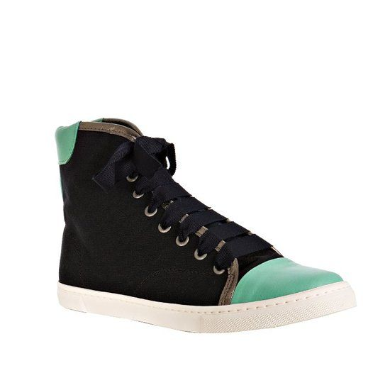 Lanvin Cap Toe High Tops...