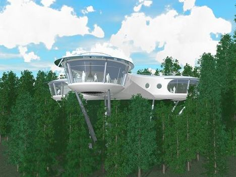 Going off-grid doesn't have to mean giving up luxuries like hot tubs, blended drinks, flat-screen televisions or electric razors. In fact, as proven by the
