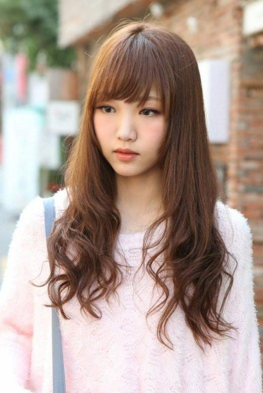 40 Best Korean Hairstyles 2018 Latest Hairstyles 2020 New Hair Trends Top Hairstyles Long Hair With Bangs Long Hair Styles Hair Styles