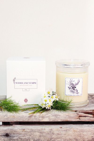 Spell Candle - Woodland Nymph