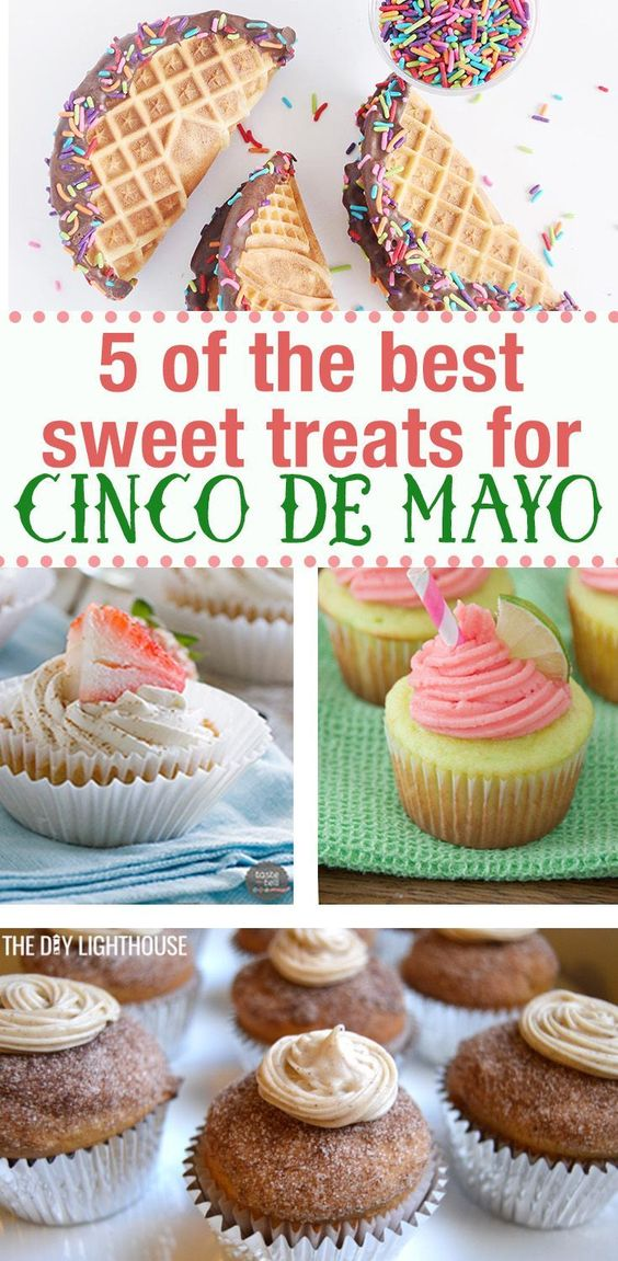 5 of the Best Sweet Cinco de Mayo Recipes You Can't Resist
