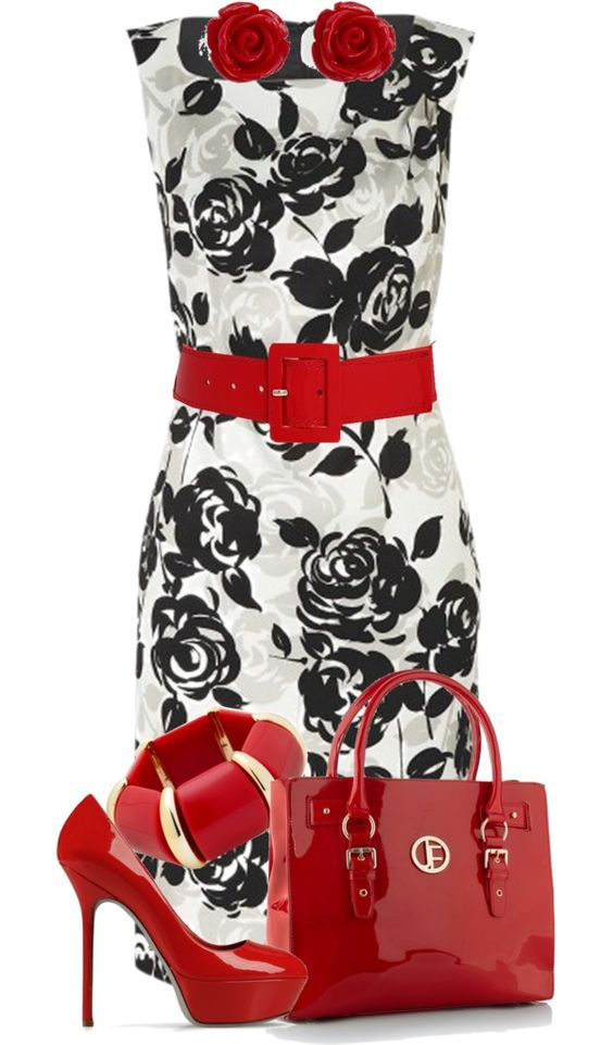 """""""Rose"""" by glamatarian ❤ liked on Polyvore"""