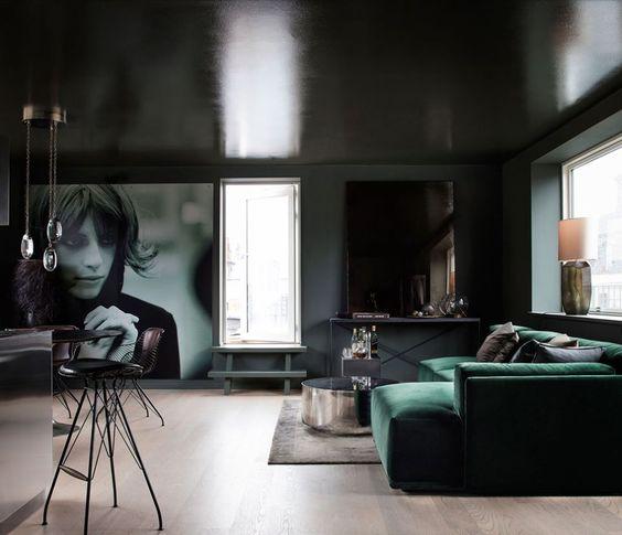 copenhagen apartment  elle decoration