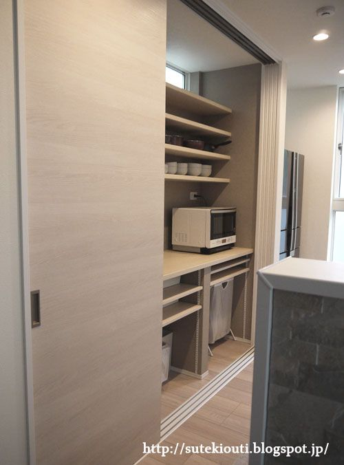 キッチンの隠せる背面収納 寸法の詳細と使い勝手 背面収納