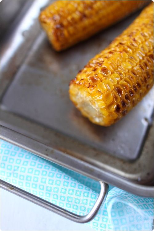 Epis de maïs grillé