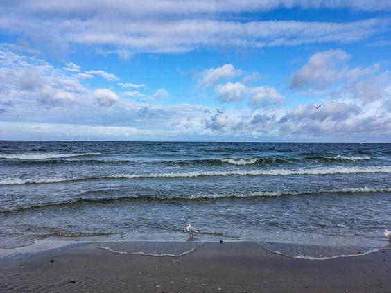 Балтийское море в Зеленоградске. Фото Жени Шведы
